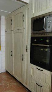 Cocinas de muebles rústicos en Sevilla