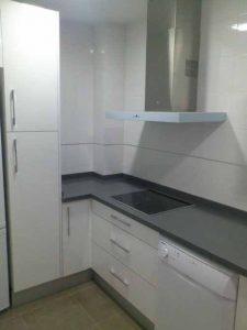 Mobiliario moderno de cocina