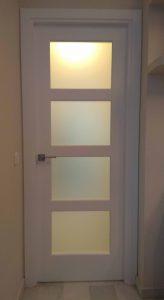 Puertas con cristalera completa en Sevilla
